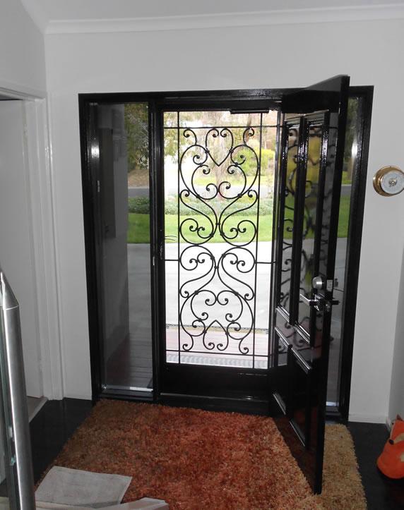 Wrought Iron Security Doors Melbourne Wrought Iron Doors